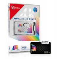 TivuSat 4k UHD CI modul TivuSat intelligens kártyával