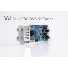 VU+ DVB-C FBC Twin Tuner 8 Demodulatorral