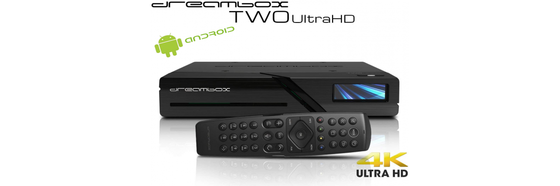 Dreambox Two Ultra HD 2x DVB-S2X MIS Tuner