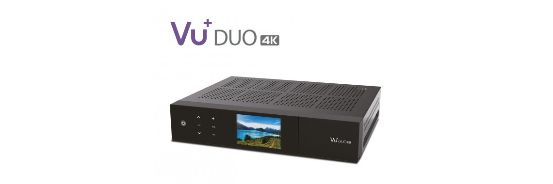 VU+ Duo 4K Linux UHD Set-Top-Box