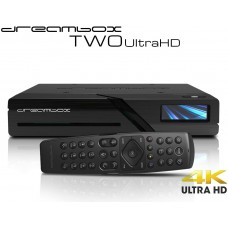 Dreambox Two Ultra HD BT 2x DVB-S2X MIS Tuner 4K 2160p E2 Linux Dual Wifi H.265