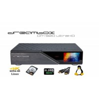 Dreambox DM 920 1x DVB-S2X-MS MultiStream FBC Dual Tuner + 1x DVB-C / T2 Dual Tuner
