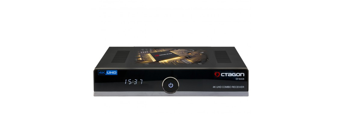 OCTAGON SF8008 4K UHD E2 DVB-S2X & DVB-C/T2 HAMAROSAN