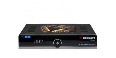 OCTAGON SF8008 4K UHD E2 DVB-S2X & DVB-C/T2 készülék