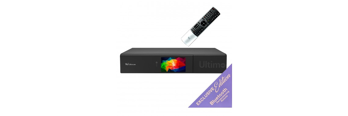 VU + Ultimo 4K BT Edition PVR Ready UHD készűlék