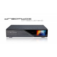 Dreambox DM920 UHD fekete, 1x DVB-C FBC tunerrel
