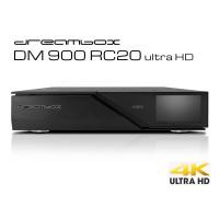 Dreambox DM 900 RC 20 ultra HD, 1x Dual S2 FBC Twin Tuner