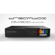 Dreambox DM900 UHD 4K 1x Dual DVB-C/T2 Tuner 2TB HDD