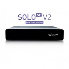 VU+ SOLO SE V2 földi/kábel (1x DVB-T2/T/C dual tuner) fekete