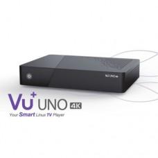 VU+ Uno 4K 1x DVB-S2 FBC Twin Tuner Linux készülék