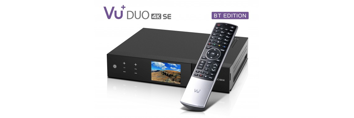 VU + PLUS DUO 4K SE 1X DVB-S2X FBC TWIN LINUX